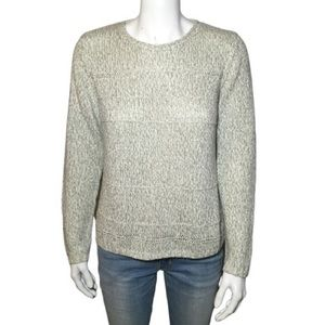 90's Vintage Cable Knit Cream / Oatmeal Sweater